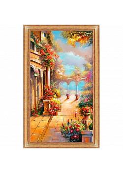 Постер в раме Toplight Город 69х99х2см TL-P6006