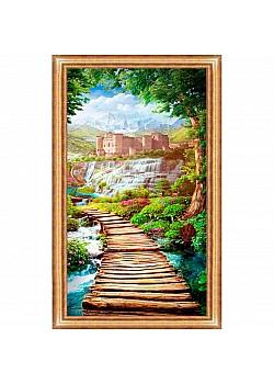 Постер в раме Toplight Пейзаж 59х109х2см TL-P6004