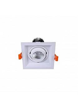 Встраиваемый светодиодный светильник De Markt Круз 15 637016101